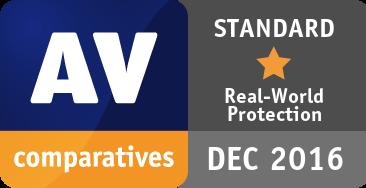 Real-World Protection Test July-November 2016 - STANDARD