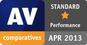 Performance Test (AV-Products) April 2013 - STANDARD