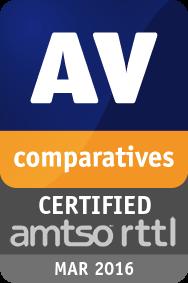 RTTL Certification Test March 2016 - CERTIFIED