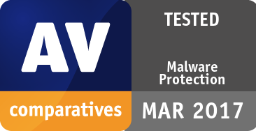 Malware Protection Test March 2017 - TESTED