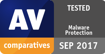 Malware Protection Test September 2017 - TESTED