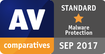 Malware Protection Test September 2017 - STANDARD