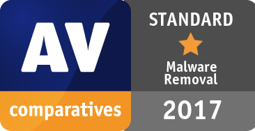 Malware Removal Test 2017 - STANDARD