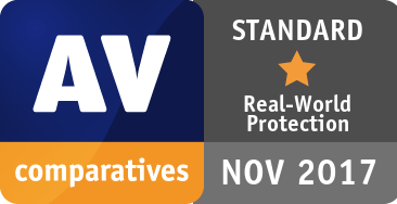Real-World Protection Test July-November 2017 - STANDARD