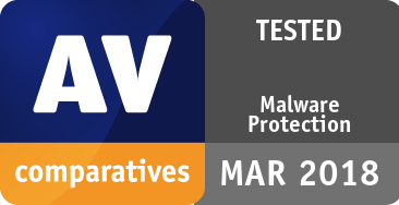 Malware Protection Test March 2018 - TESTED