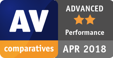 Performance Test April 2018 - ADVANCED
