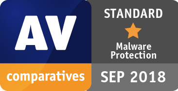 Malware Protection Test September 2018 - STANDARD