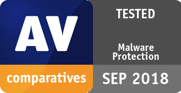 Malware Protection Test September 2018 - TESTED