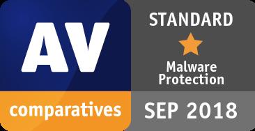 Malware Protection Test September 2018 - STANDARD