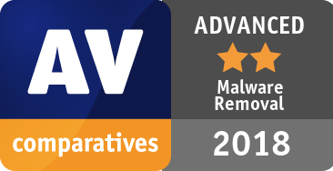 Malware Removal Test 2018 - ADVANCED
