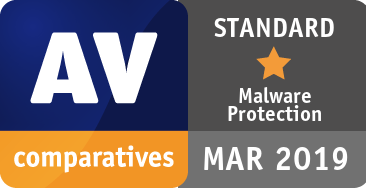 Malware Protection Test March 2019 - STANDARD