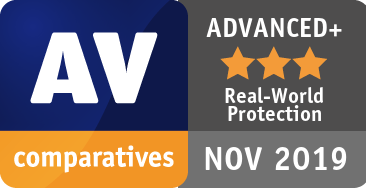 Real-World Protection Test July-October 2019 - ADVANCED+