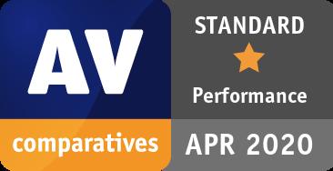 Performance Test April 2020 - STANDARD