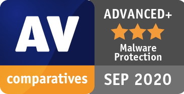 Malware Protection Test September 2020 - ADVANCED+