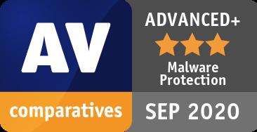 Malware Protection Test September 2020 - ADVANCED+