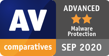Malware Protection Test September 2020 - ADVANCED
