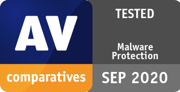 Malware Protection Test September 2020 - TESTED