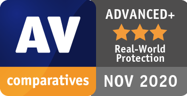 Real-World Protection Test July-October 2020 - ADVANCED+