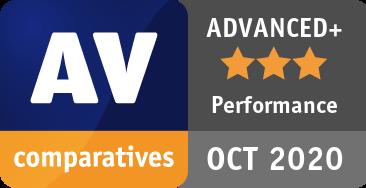 Performance Test October 2020 - ADVANCED+