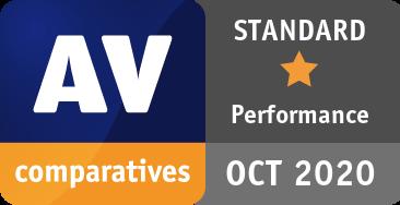 Performance Test October 2020 - STANDARD