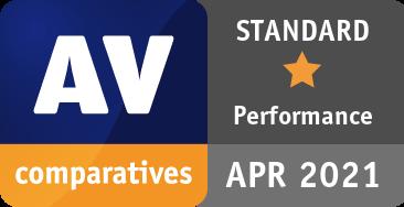 Performance Test April 2021 - STANDARD