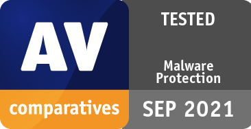 Malware Protection Test September 2021 - TESTED
